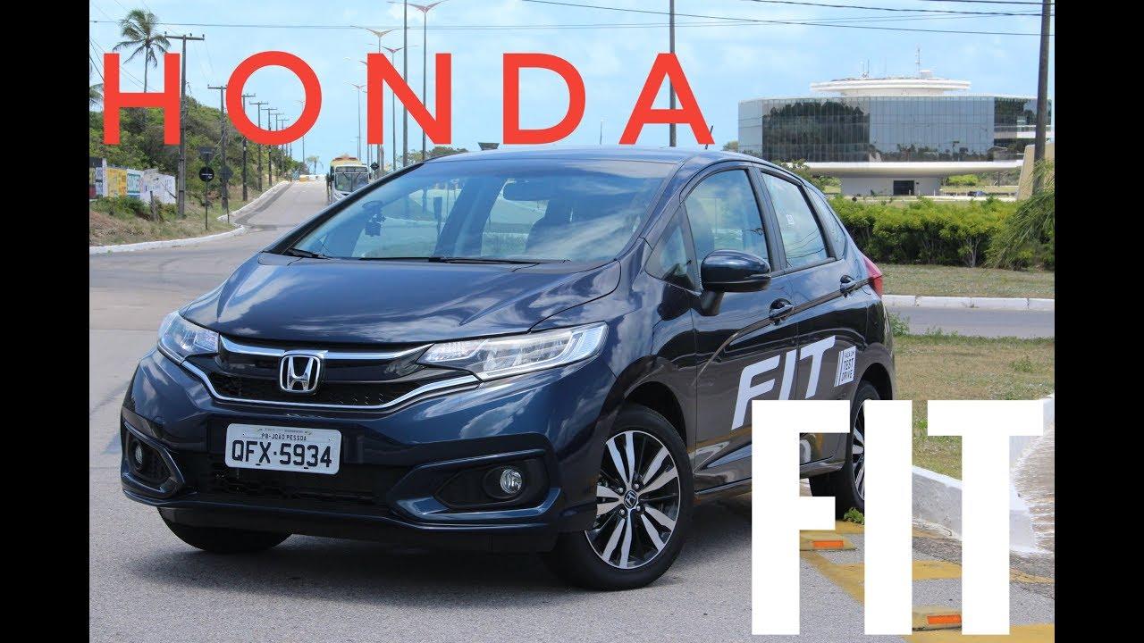 Avaliação do novo Honda Fit 2018 EXL - Test Drive - YouTube
