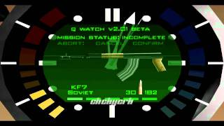 Goldeneye 007 watch music (HD)