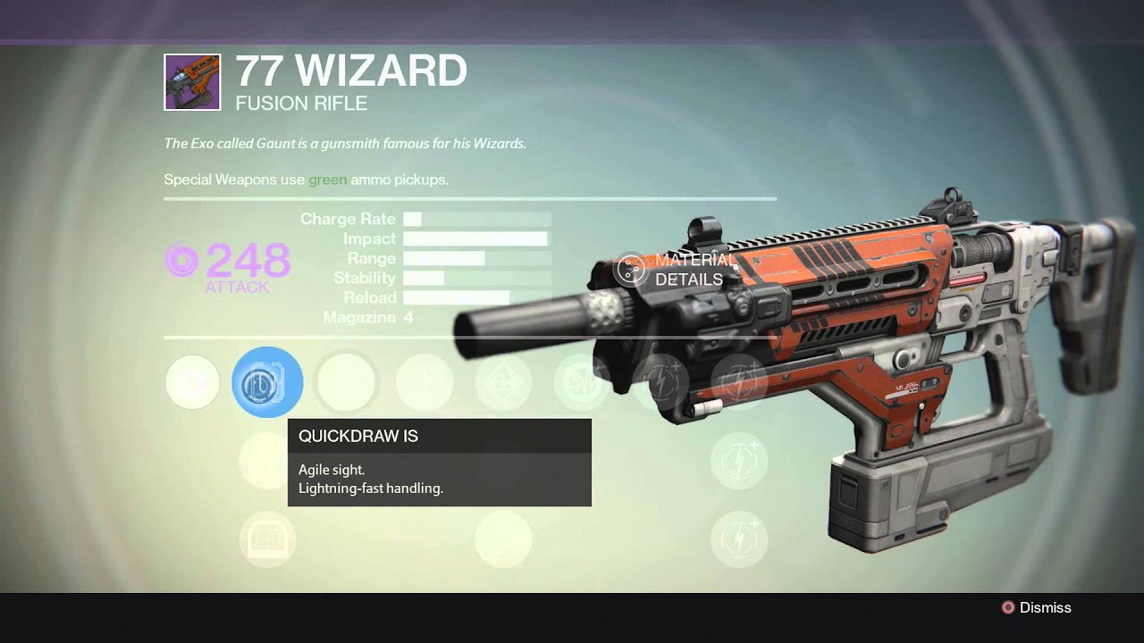 77 wizard fusion rifle