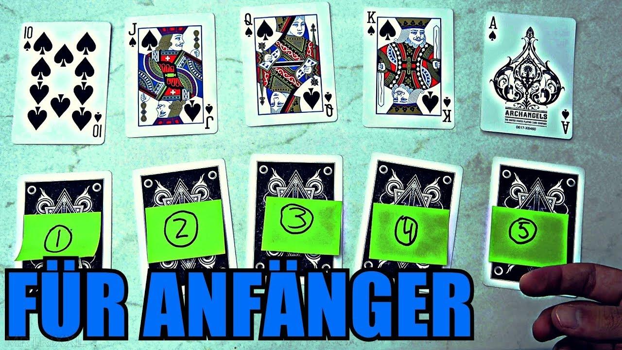 Kartentrick Einfach