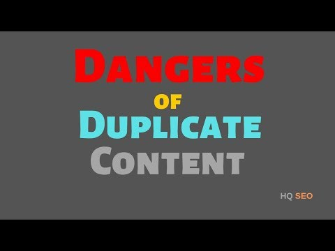 Dangers of Duplicate Content For SEO & How To Resolve