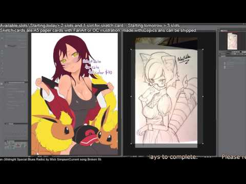 Commissions Live(Prices bellow)