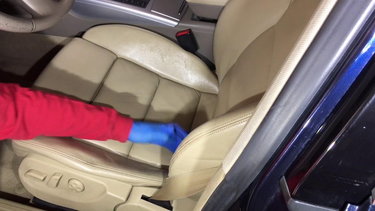 Como limpiar un asiento de cuero v deo 2 for Como limpiar asientos de cuero