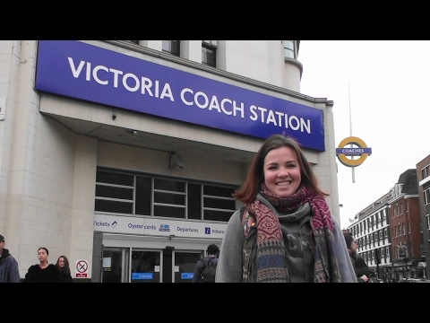 Directions From London Victoria Coach Station To London Victoria Train Station UK ( Day Time )