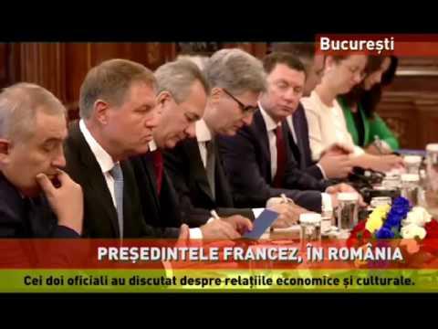 Hollande, vizită oficială în România
