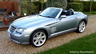 Video Review of Chrysler Crossfire Convertible For Sale SDSC Specialist Cars Cambridge UK