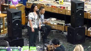 Aaradhna live in store at Real Groovy - Cool Shoes