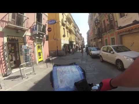 Giro della Sardegna in Bici Cagliari come non l'avete mai vista