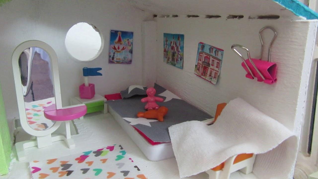 Amenagement maison en bois pour playmobil youtube - Maison en bois playmobil ...