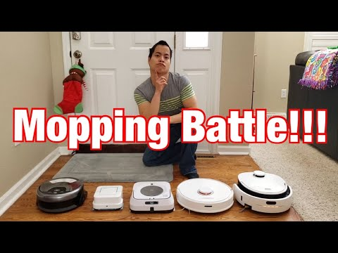 which-mopping-robot-for-you-🤔-roborock-s6,-irobot-braava-jet-m6,-240,-ilife-w400-and-veniibot-n1!!
