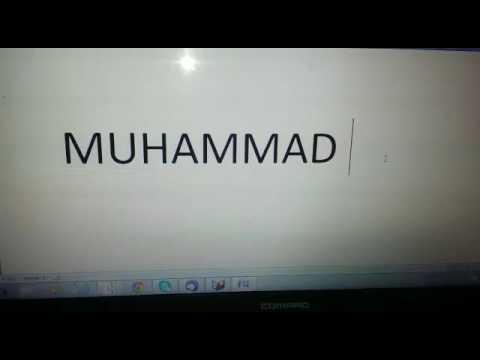 Muhammad Salallahu Alaih wa sallam