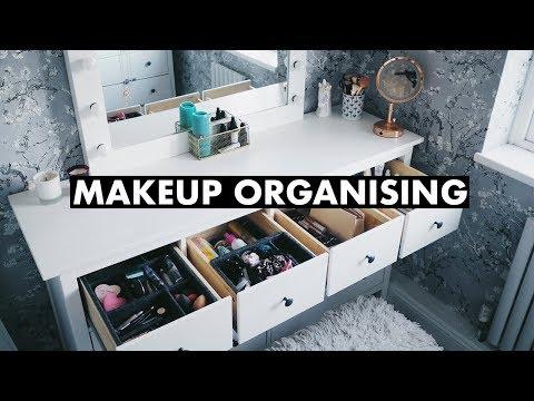 Reorganising my Makeup and Dressing Room