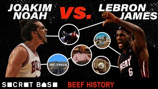 LeBron James attracts many pests, but Joakim Noah might be the best player to ever beef with him