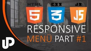 Einfaches Responsiv JavaScript Menü! Part #1 / Tutorial