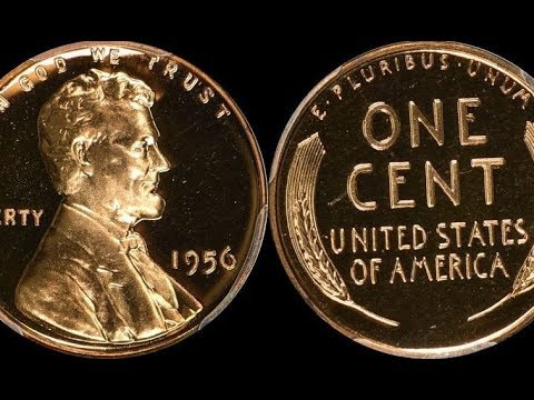 GORGEOUS 1956 Lincoln Penny Sells for Almost $4,500 - Where Can You Find  Coins Like This?