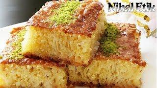 Pileli Revani (Şerbetli Tatlıları Sevenler İçin Nefis Bir Tatlı)