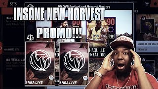 NEW HARVEST PROMO REVIEW IN NBA LIVE MOBILE 18!!!