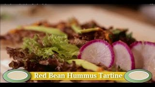 Red Bean Hummus Tartine Recipe From Le Pain Quotidien