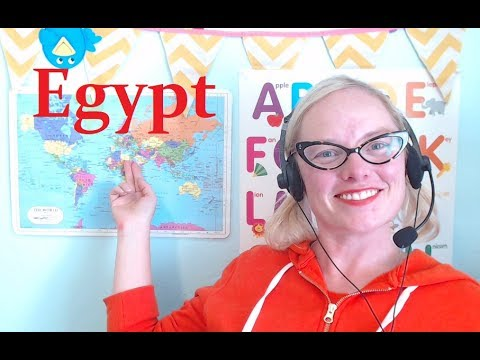 VIPKID SONGS: Egypt Theme Song (Level 1, Unit 7) by Teacher Jennie