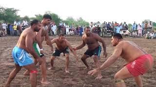 Urs Hazrat Baba Masoom Shah Chung 2017 Challenge Kabaddi Matches