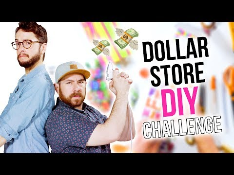 Dollar Store DIY Craft Challenge with the Crafty Lumberjacks - HGTV Handmade