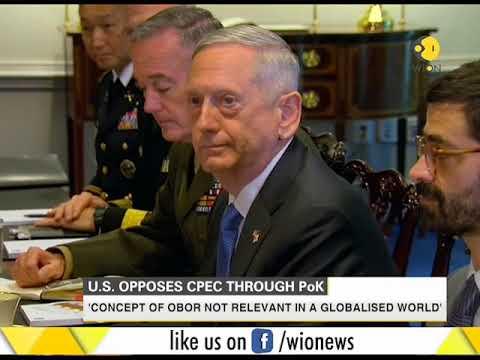 United States opposes CPEC through PoK