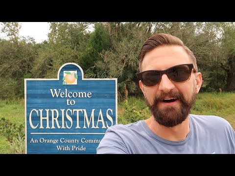 Exploring A Town Called Christmas During Christmastime! | Historic Florida, Haunted Dolls & More!