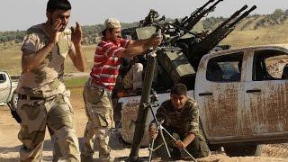 ثوار درعا يهاجمون مواقع داعش بريف المحافظة الغربي