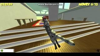 Кошачьи бега!-flash игра!