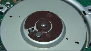 Флоппи дисковод - раскрутка мотора ( Floppy drive - engine development )
