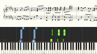 【無料ピアノ楽譜】Sexy Zone「カラクリだらけのテンダネス」−ドラマ『ドロ刑 -警視庁捜査三課-』主題歌