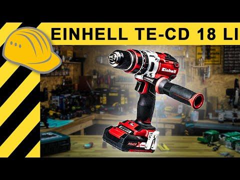 EINHELL Akku-Bohrschrauber TE-CD 18 Li E 1x2,0Ah Bohrmaschine Akkuschrauber