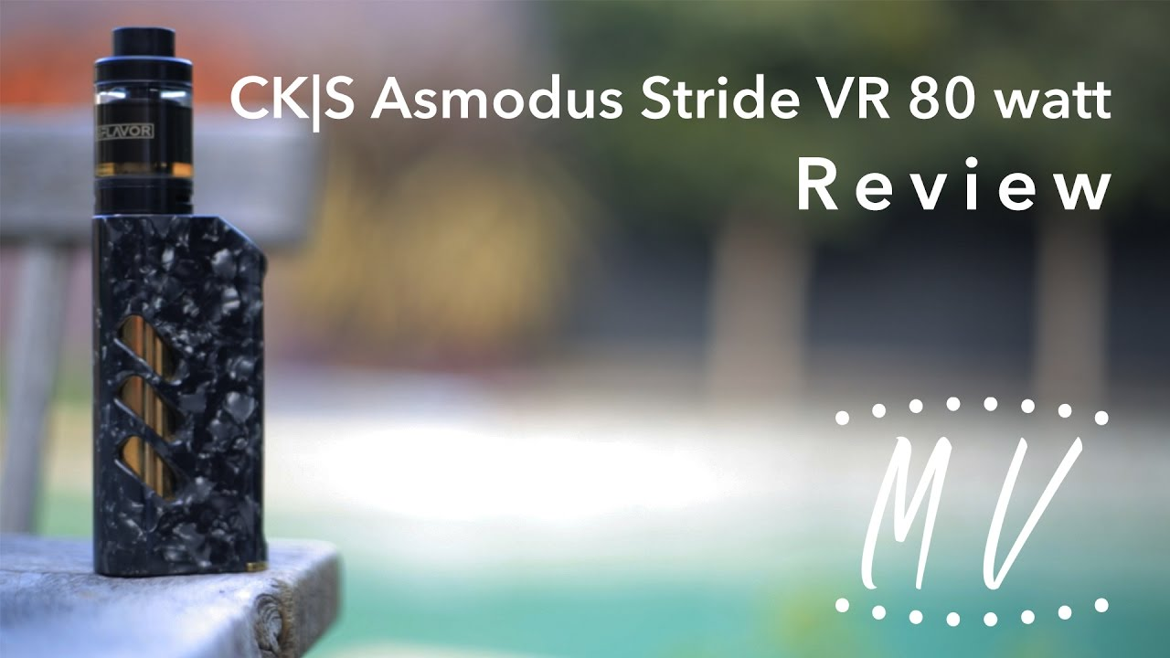 Asmodus Stride VR-80 TC Mod CKS Edition - Purple
