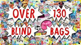 ПОНАД 130 СЛІПИЙ СУМКА ВІДКРИТТЯ! Рукою Squishies , Лего і багато іншого сюрприз іграшки компіляції | вірний іграшковий канал