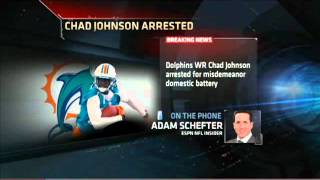 (Ochocinco) Chad Johnson arrested in alleged domestic violence dispute