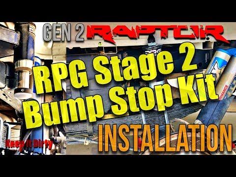 RPG Stage 2 Bump Stop Installation Gen 2 Raptor