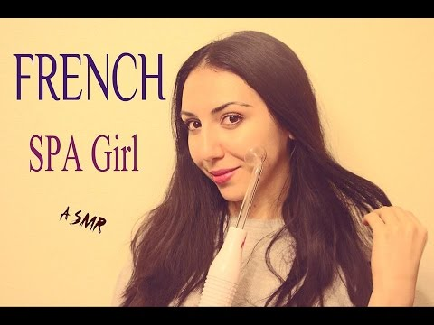 ASMR FRANÇAIS MASSAGE ELECTRONIC & ASMR SPA Role Play French Whisper Chuchotement