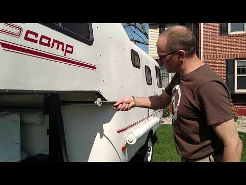 Scamp Camper 19 foot How to Truck 5th Wheel Hitch