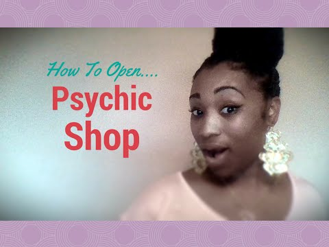How to open Psychic Shop