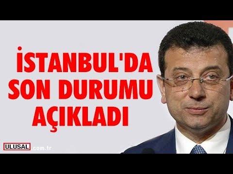 Ekrem İmamoğlu İstanbul'da son durumu açıkladı (08 Nisan 2019 İstanbul yerel seç