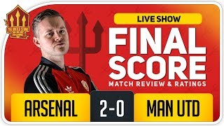 Goldbridge! Arsenal 2-0 Manchester United Match Reaction