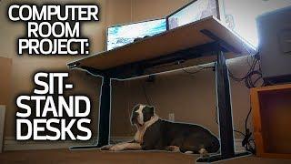Computer Room Upgrade! Installing Sit-Stand Desks