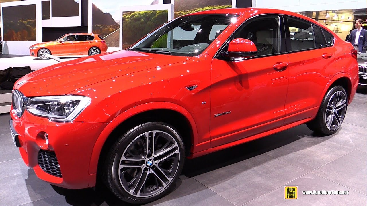2017 Bmw X4 35d Xdrive M Sport Package Exterior And Interior Walkaround Geneva Motor Show You