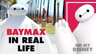 Disney's Baymax from Big Hero 6 In Real Life | Oh My Disney IRL