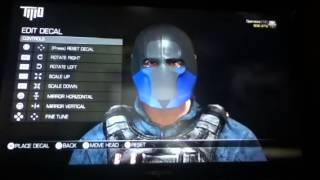 Army of Two: Sub-zero Mask Tutorial