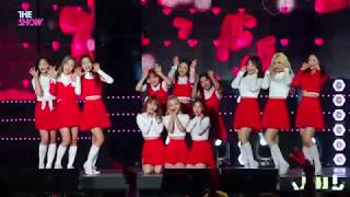 FanCam, LOONA, Hi High [THE SHOW 181009] 60P