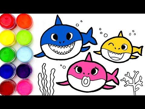 핑크퐁 아기상어 상어가족