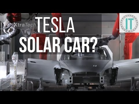 Thumbnail: Tesla Changing SOLAR ENERGY - Solar Cars, Space Solar and Even Drinking Water?
