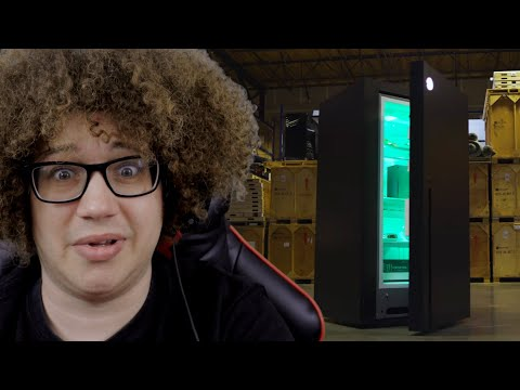 Xbox Series X Fridge – World Premiere – 4K Trailer   Bamalam Reacts