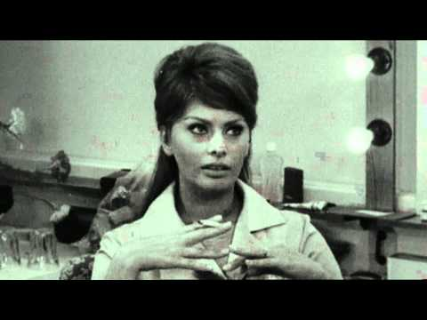 Sophia Loren Interview stolen jewellery